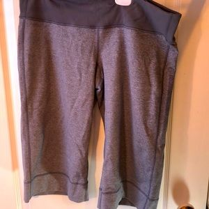 Lululemon light grey long shorts size 10